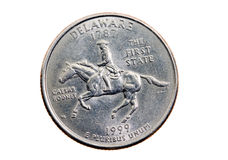 美元季度 库存图片