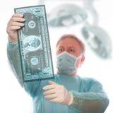 美元憔悴 免版税库存图片