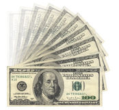 美元我们 免版税库存图片