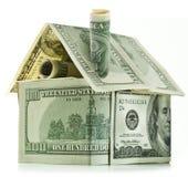美元房子 免版税图库摄影