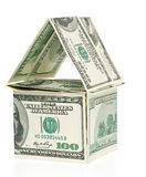 美元房子 库存图片