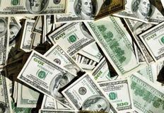 美元批次 免版税库存图片