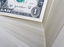 美元批次 免版税库存照片