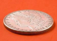 美元摩根银 库存图片