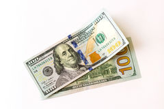 100美元新的钞票 免版税库存图片