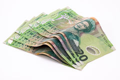 美元新西兰 免版税库存照片