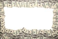 美元框架 免版税库存图片