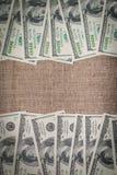 美元框架 图库摄影