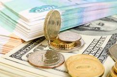 美元汇率 免版税图库摄影