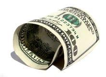 美元滚 免版税库存图片