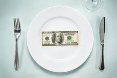 美元牌照 免版税库存图片