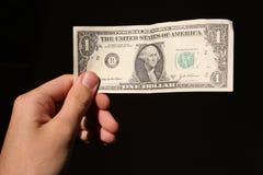 美元现有量一 库存图片