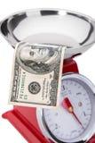 美元的意义在经济的 免版税库存图片