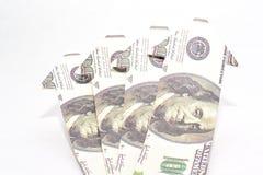 美元的成长 库存图片