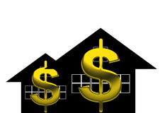 美元的符号 免版税图库摄影