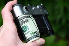 美元秘密审议 免版税库存图片