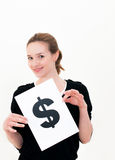 美元符号 免版税图库摄影