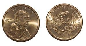 1美元美国 免版税库存照片