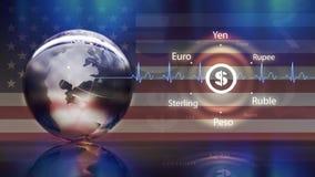 美元货币概念 免版税图库摄影