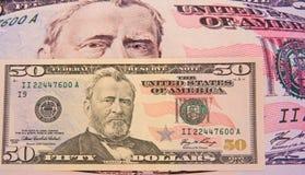 美元通货膨胀的压 免版税图库摄影