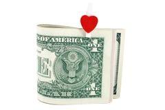 美元重点一s符号u 免版税库存图片