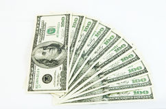 美元钞票 库存图片