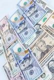 美元银行背景 免版税图库摄影