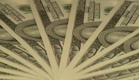 美元风扇 免版税库存照片
