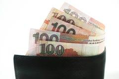 美元香港,香港钱包,香港金钱 库存照片