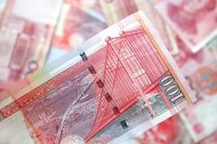 美元香港 库存图片