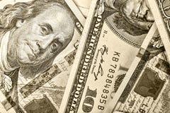 美元, 100美元,美元美国,钞票,财政,金钱, f 免版税库存图片