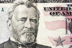 美元细节 免版税库存图片