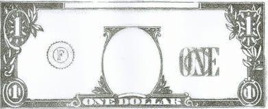 美元 库存例证
