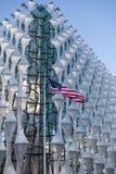 美利坚合众国的使馆在伦敦 免版税库存照片