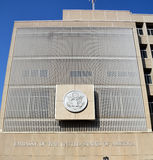 美利坚合众国的使馆在特拉维夫 库存图片