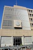 美利坚合众国的使馆在特拉维夫 库存照片
