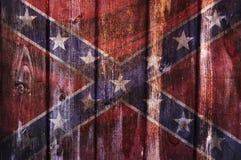 美利坚联盟国的旗子 向量例证
