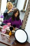 美发师工作 库存图片