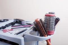 美发师工具 免版税库存照片