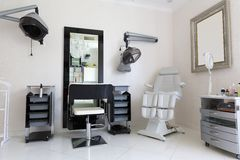 美发师的室 免版税库存照片