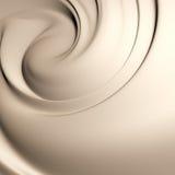 美味乳脂状的漩涡 免版税库存图片
