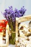 美味家庭的淡紫色 库存图片