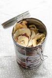 美味干苹果 库存照片