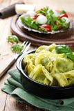 美味意大利意大利式饺子盘  免版税图库摄影