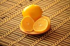 美味柠檬 免版税库存照片