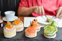 美味的下午茶- 免版税库存图片