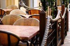 美味的咖啡馆 库存照片