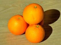 美味的新鲜的桔子 库存照片