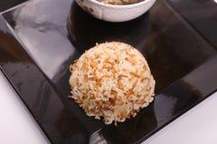 美味的米膳食 库存照片