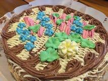 美味的蛋糕 免版税库存图片